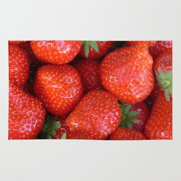 Juicy Strawberries Rug