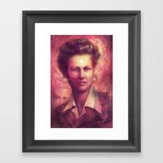 Saint Iva Framed Art Print