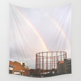Rainbows in Hackney Wall Tapestry