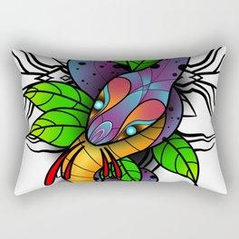 Serpentine. Rectangular Pillow