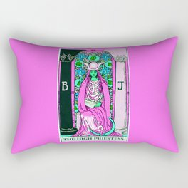 The High Priestess Rectangular Pillow
