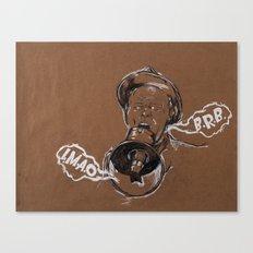 Talking Megaphone Canvas Print