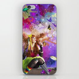 The Endless Delight of Delirium iPhone Skin