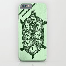 Turtle on Green iPhone 6s Slim Case