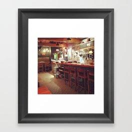 restaurant loving Framed Art Print