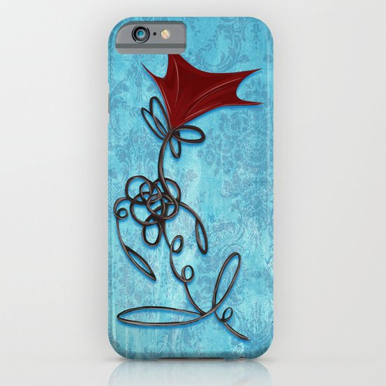 Twisted Rose iPhone & iPod Case