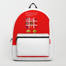 Crowd contol Backpack