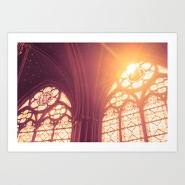 Light of Heaven Art Print