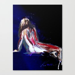 She Was Once Adored Canvas Print