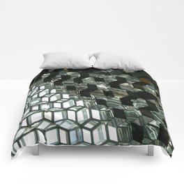 Harpa,  concert hall and conference centre Comforters