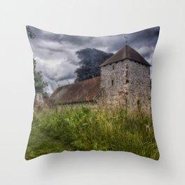 South Malling Church Throw Pillow