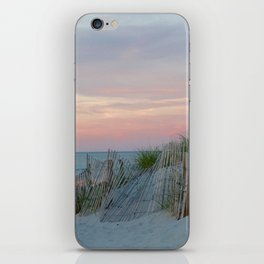 Sunset on Cape Cod iPhone Skin