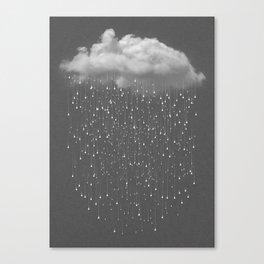 Let It Fall II Canvas Print