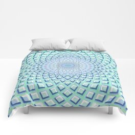 Just Breathe - Mandala Art Comforters