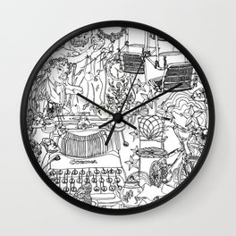 A day out with Lula Wall Clock