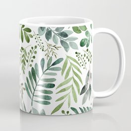 Botanical leaves -Watercolor   Coffee Mug