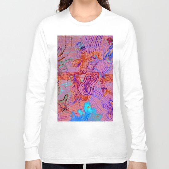amoeba's sounds - horizon Long Sleeve T-shirt