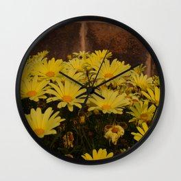 Bring me Flowers Wall Clock