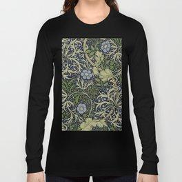 William Morris Seaweed Pattern Long Sleeve T-shirt