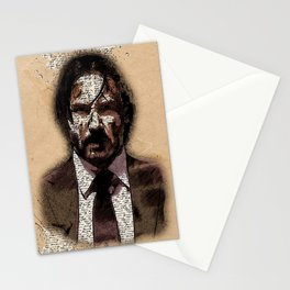 KEANU Vintage Art Style Portrait Stationery Cards