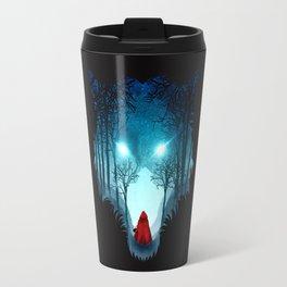 Big Bad Wolf (dark version) Travel Mug