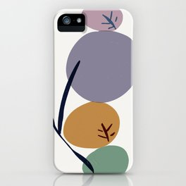 zen stones garden leaf iPhone Case