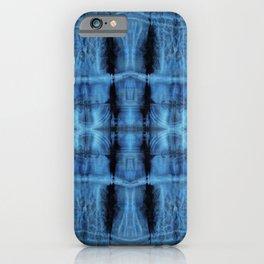 Shibori Wilshire Blue iPhone Case