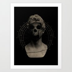 Sum Quod Eris Art Print