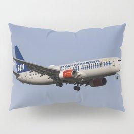 SAS Boeing 737-800 Pillow Sham