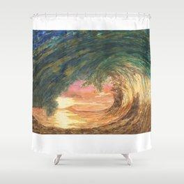 Breaking Wave Shower Curtain