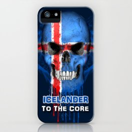 To The Core Collection: Iceland iPhone Case