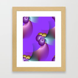 just a bit crazy -3- Framed Art Print