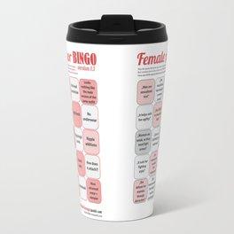 Female Armor Bingo Travel Mug
