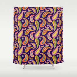 Paisley 2 Shower Curtain