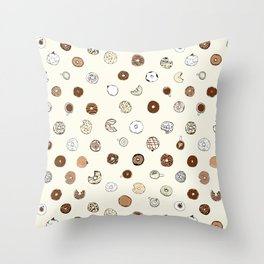 Donut You Want Some 02 Throw Pillow