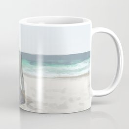 Rowan on the Beach Coffee Mug