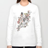 la Long Sleeve T-shirts featuring La Dolce Vita by Norman Duenas