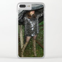 Hiding Game Clear iPhone Case