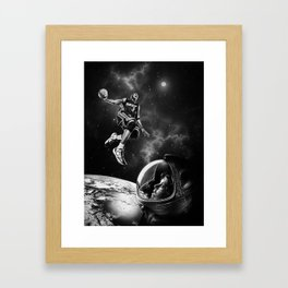 NBA LIVE ! Framed Art Print