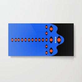 Abstraction_MONSTER_EYE_CUTE_Minimalism Metal Print