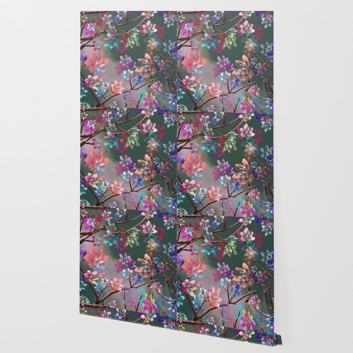 Floral abstract 76 Wallpaper