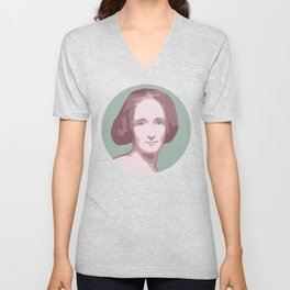 Mary Shelley Unisex V-Neck