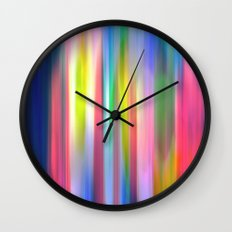 Tulip Blur Wall Clock