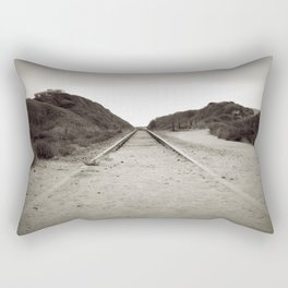 Forsaken Tracks Rectangular Pillow