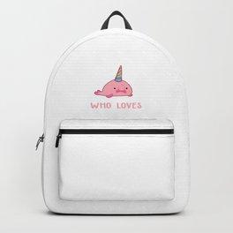 Blobfish design for Girls | Blobicorn Backpack