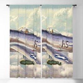 P47 Thunderbolt Blackout Curtain