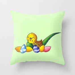 Easter Egg Keet Throw Pillow