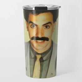 Borat Travel Mug