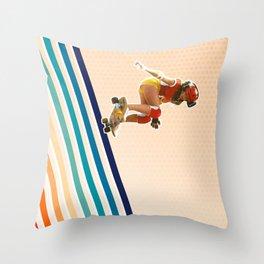 She's Jammin' Throw Pillow