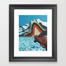 the fabric of reality (crisp) Framed Art Print